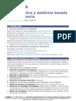 Bioestadistica y Medicaina Basada en Evidencia