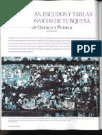 Mascaras, Escudos y Tablas Con Mosaicos de Turquesa [Davide Domenici]