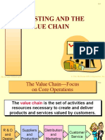 Costing and the Value Chain