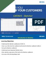 CATIAV5 - Sketcher