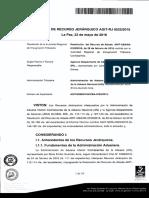 Ejecucion Garantia Admision TemopralAGIT RJ 0522 2016