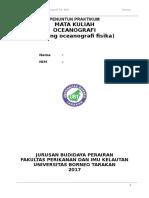 Modul PRAKTIKUM Oceanografi