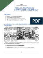 Trastornos disociativos (Conversivos)