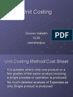 2. Unit Costing