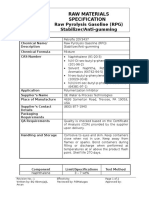 Raw Material Specification Sheet_Petroflo 20Y3437 New