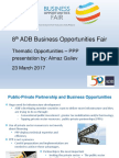 6 Plenary - Thematic PPP by AGaliev 20Mar2017