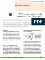 Mixing Simulationtoolsin Process Development
