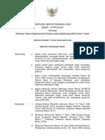 Permen_5_2007pedoman Teknis Pembangunan Rumah Susun Sederhana Bertingkat Tinggi