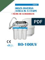 Fisa Tehnica Ro-100uv