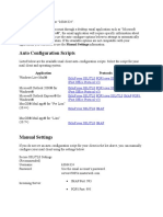 Mail Client Configuration For