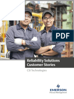 Reliability Solutions Customer Stories Data