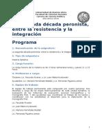 Programa La Segunda Decada Peronista - 2016 (1) (1)