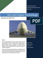 Aircraft Engine Technology - Antonov An-225 Mriya