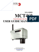 MCT460 User Guide Manual (First Edition) Rev1.2