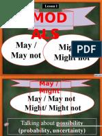 may - might