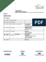 Programme Structure Seminar - 12 January 2017