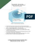 Petunjuk Format Laporan RBL