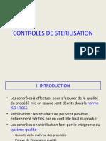 Controles de Sterilisation
