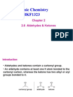 Chapter 2.6 Aldehyde & Ketone