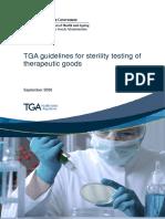 Manuf Sterility Testing Guidelines