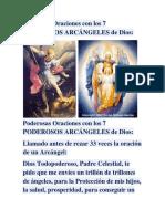 Oraciones Con Los 7 PODEROSOS ARCÁNGELES de Dios 33 Smart
