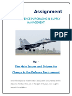 Defence Assignment