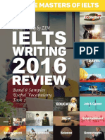 Ielts Writing - 2016 Review