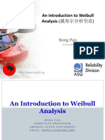 An Introduction to Weibull Analysis