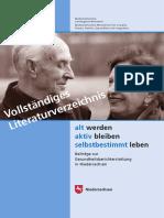 Alterundgesundheit Literaturverzeichnis Hs