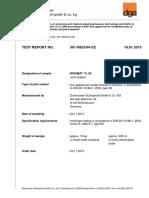 Raport de Incercare TL 82 Engleza 2015 Mastic