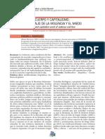 Cuerpo y Capitalismo. Fermín Rodríguez