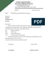 contoh surat izin bakti sosial