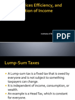 Chap 11 Taxation, Prices, Efficiency, And the Distribution of Income