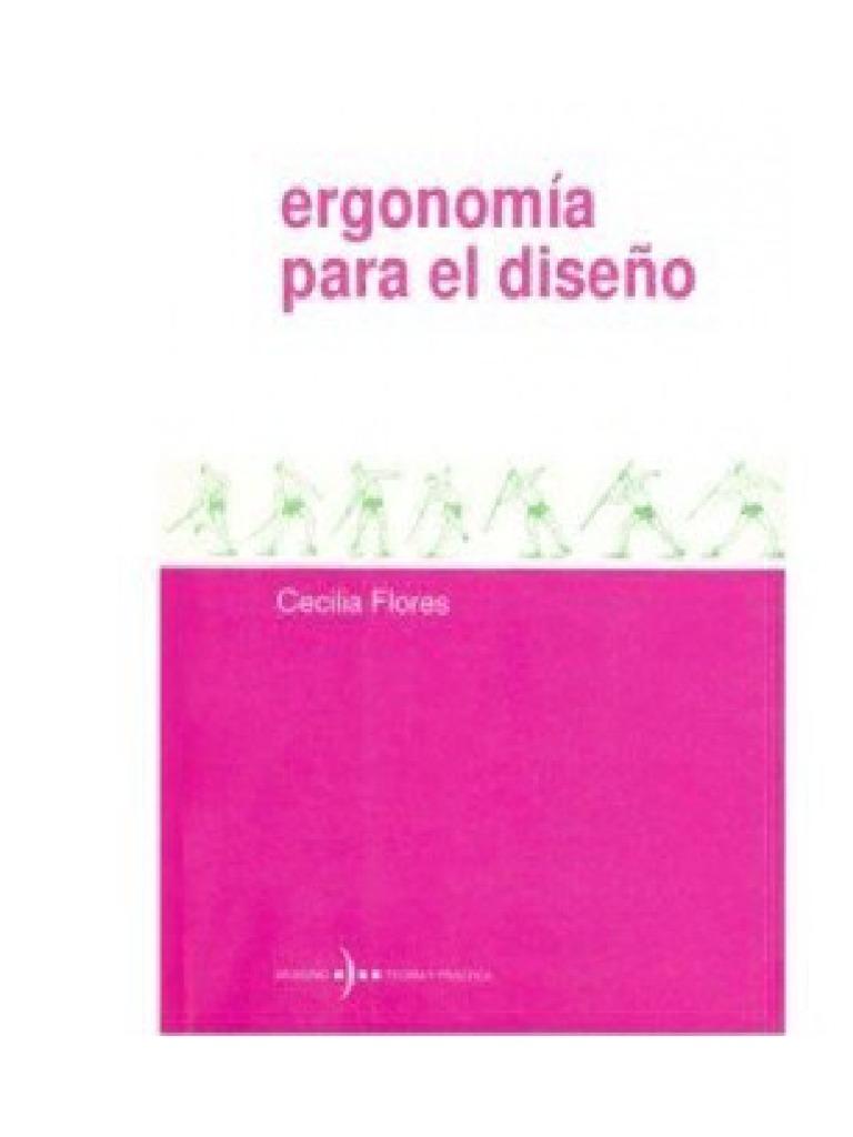 Cecilia Ergonomía Para docx El Libro Diseño Flores 4R35jLA