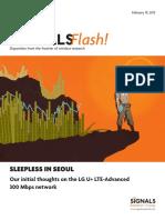 Telecom Magazine - Signals Ahead- Signals Flash 300 Mbps Network