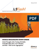 Signals Ahead - Telecom Magazine - Signals Flash 021816