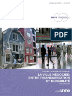 Theurillat Thierry - La Circulation Du Capital. La Ville n Goci e 20100312