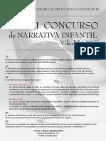 Xxxvi Concurso Narrativa Infantil 2017 - Castellano & Valenciano
