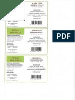 Percy - Ticket Vert
