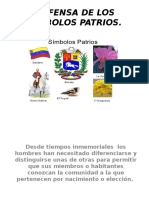 Defensa de Los Símbolos Patrios
