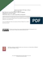 Kenija Istrazivanje i Konzervacija UCL