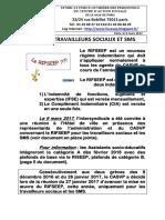 Rifseep Travailleurs Sociaux Et Sms