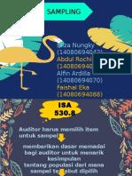 Isa 530 Sampling