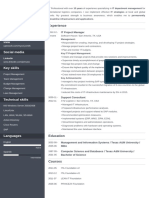 It Project Manager Cv Master File