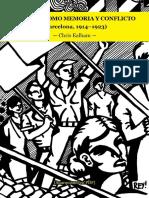 Ealham, Chris - La Calle Como Memoria y Conflicto (Barcelona, 1914-1923) [Anarquismo en PDF]