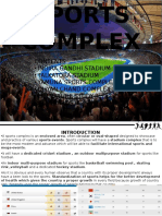 Case Studies OF SPORTS STADIUMS AND COMPLEXES