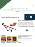 Rosca transportadora Chupim,Rosca helicoidal,rosca chupim - DEMAKINEDemakine – Equipamentos Agroindustriais.pdf