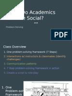 ae when do academics become social