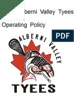 AVMLA Operating Policy 2013
