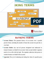 Banking Terms Ppt